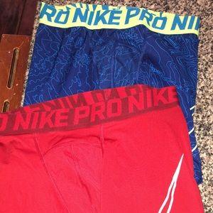 Boys dri-fit shorts set of 2